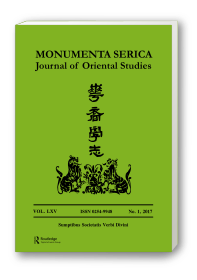 Monumenta Serica Journal, Vol. LXV, No.1